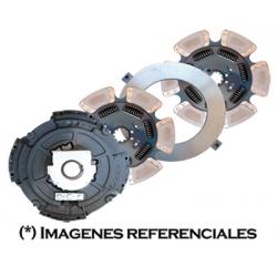 """0859-701X Prensa Embrague 15 1/2""""x2 centro abierto 4000 lbs"""